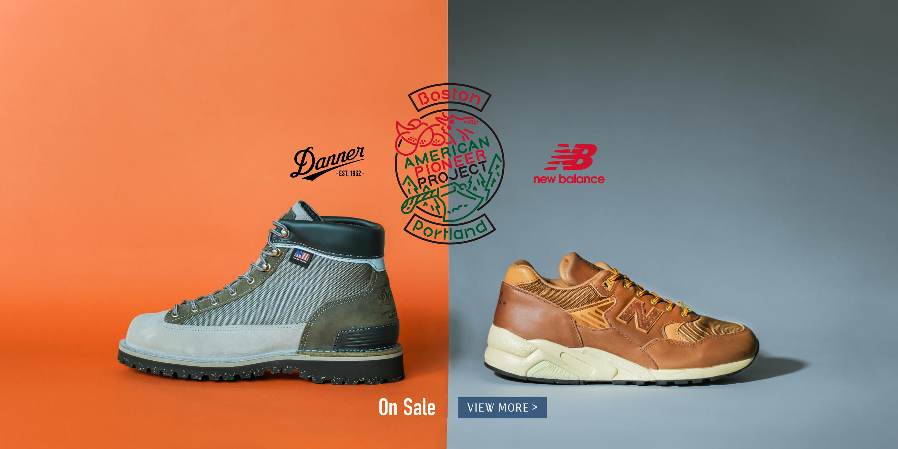 NEW BALANCE × DANNER AMERICAN PIONEER PROJECT