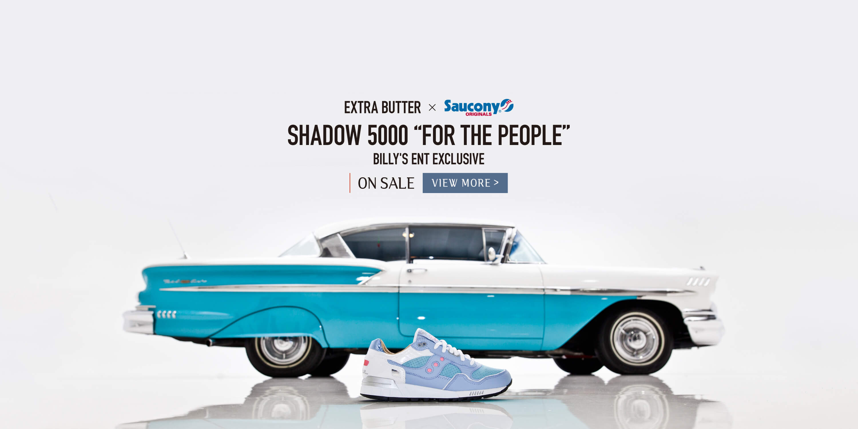 "EXTRA BUTTER×SAUCONY SHADOW 5000 ""FOR THE PEOPLE"""