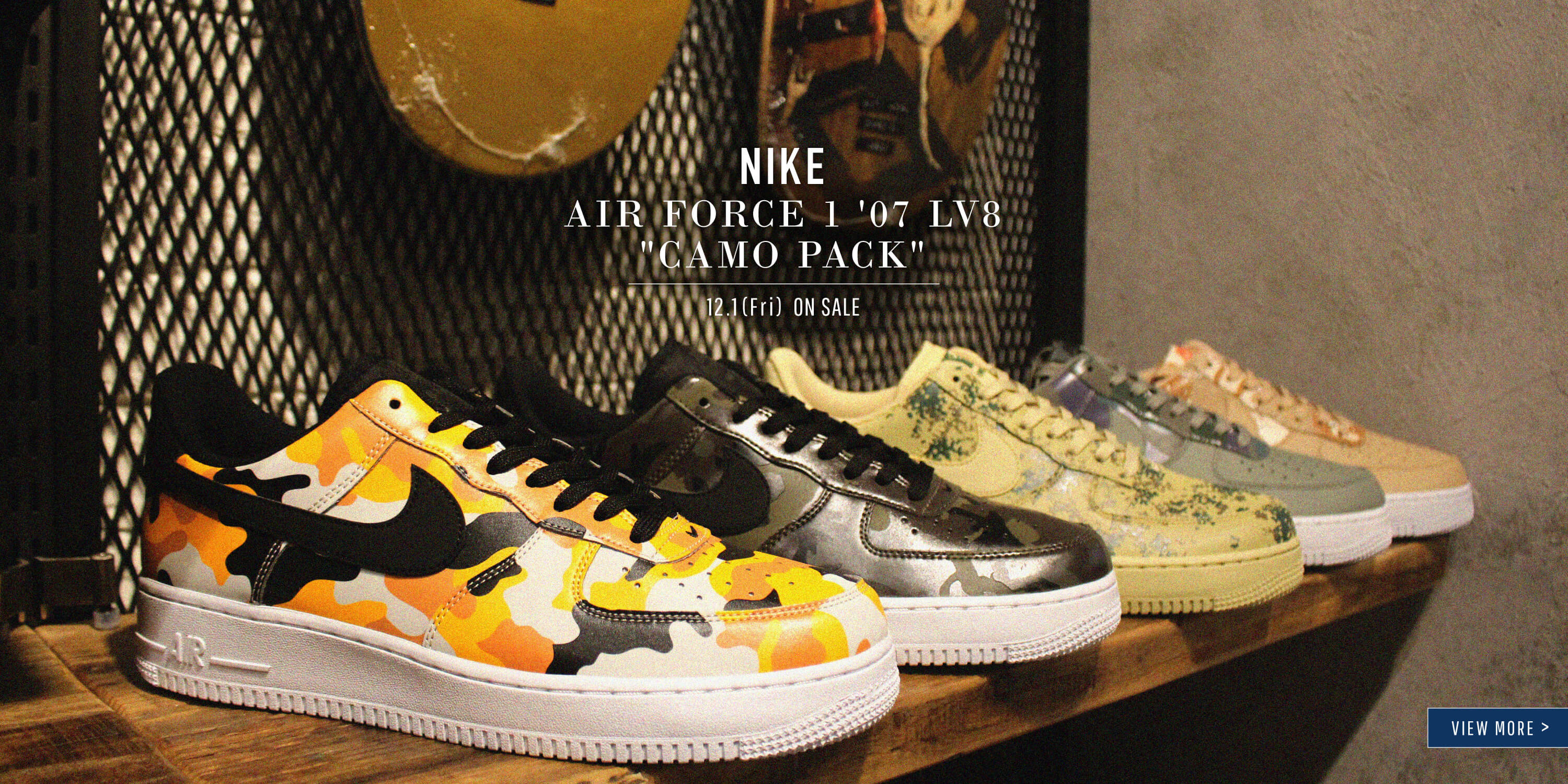 AIR FORCE 1 CAMO PACK