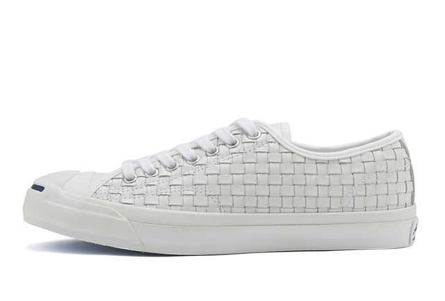 JACK PURCELL HANDWOVEN LEATHER