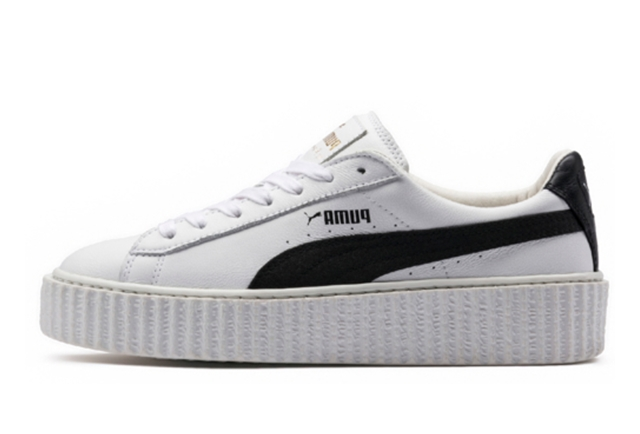 CREEPER WHITE & BLACK