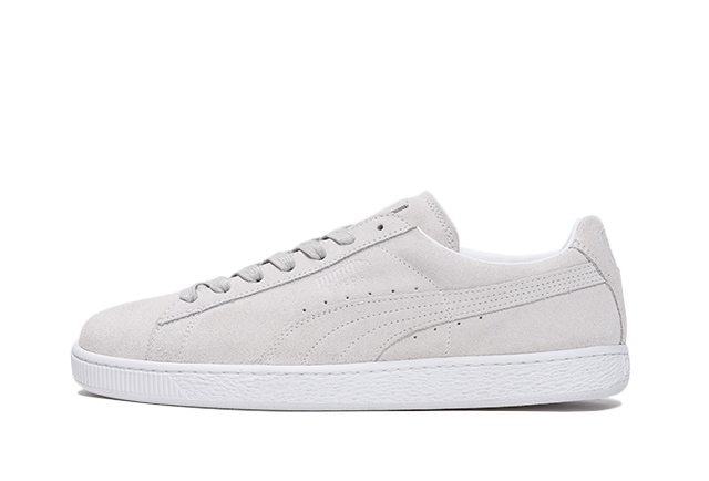 SUEDE CLASSIC WHITE