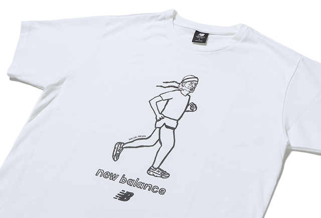 N.GRAPH RETRO RUNNER TEE WT