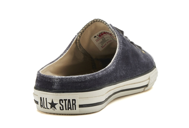 ALL STAR S VELVET MULE OX