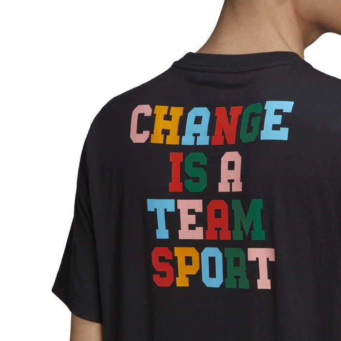 CHANGE IS A TEAM SPORT TEE