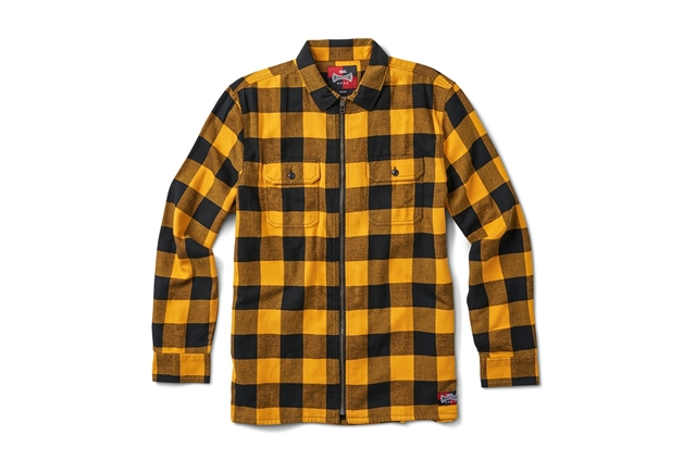 VANS X INDEPENDENT ZIP FLANNEL