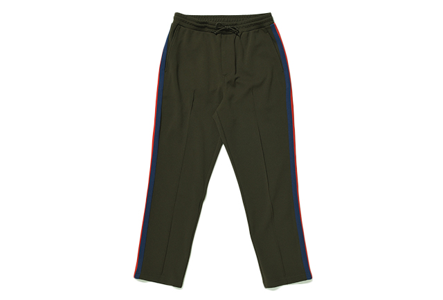 SIDE STRIPE JERSEY SLACKS