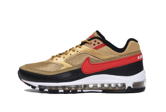 700 METALLIC GOLD/UNIVERSITY RED-WHITE-BLACK