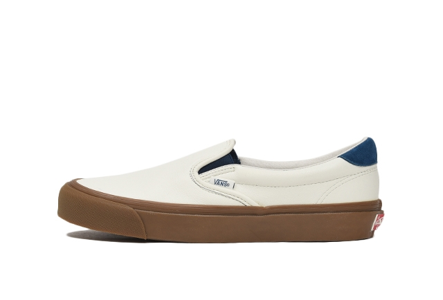 (LEATHER/SUEDE) MARSHMALLOW/SAILOR BLUE
