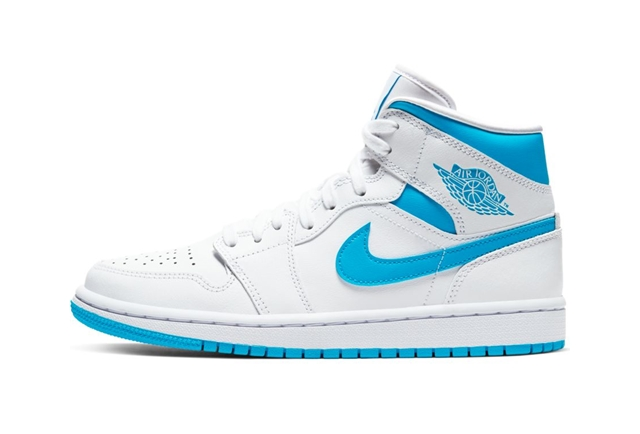 WHITE/DK POWDER BLUE-WHITE
