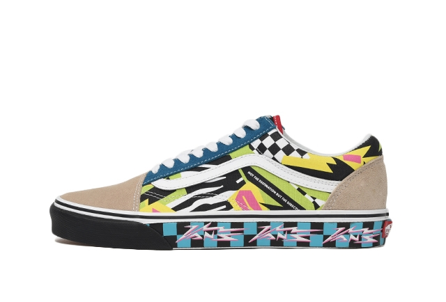 (VANS MASH UP) MULTI/TRUE WHITE
