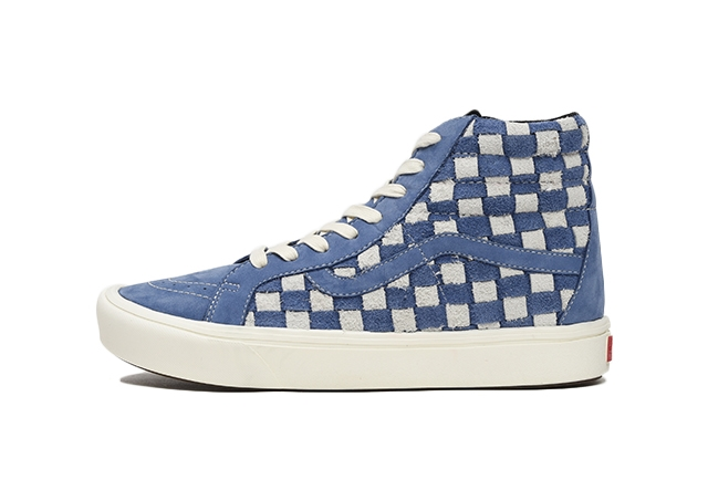 (HAIRY SUEDE/NUBUCK) STY NAVY/MARSHMALLOW CHECKERBOARD