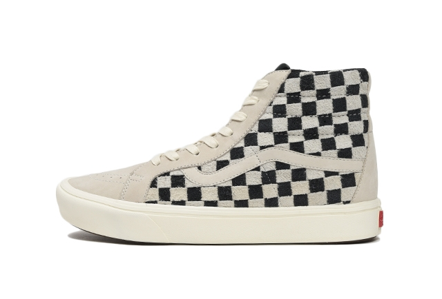 (HAIRY SUEDE/NUBUCK) OATMEAL/BLACK CHECKERBOARD