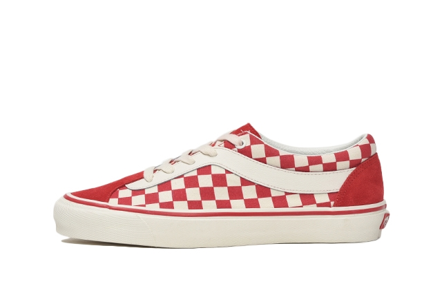 (CHECKERBOARD) RACING RED/MARSHMALLOW