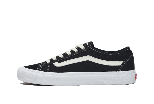 (Canvas/Suede) Black/Marshmallow