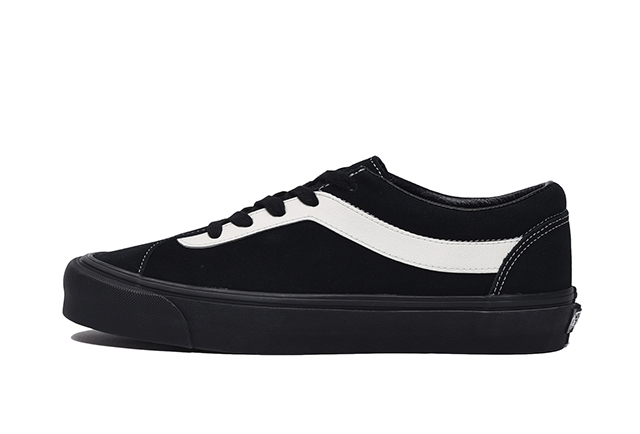 (Suede) Black/Marshmallow