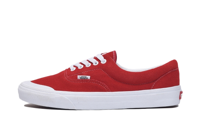 (Suede) Racing Red/True White