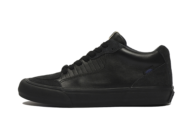 (LEATHER/HAIRY SUEDE) BLACK