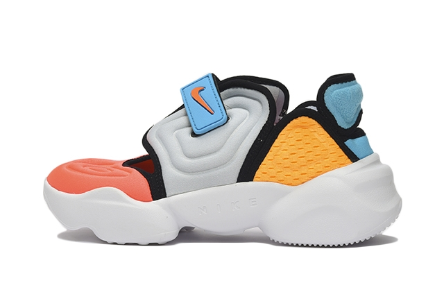002FOOTBALL GREY/HYPER CRIMSON-BLUE FURY-LASER ORANGE-BLACK-WHITE