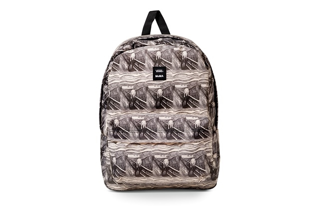 VANS X MOMA MUNCH OLD SKOOL III BACKPACK