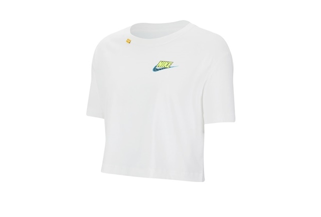 W NSW WORLDWIDE CROP SS TEE