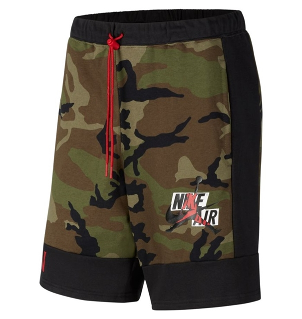 JORDAN JUMPMAN CLASSIC CAMO FLEECE SHORT