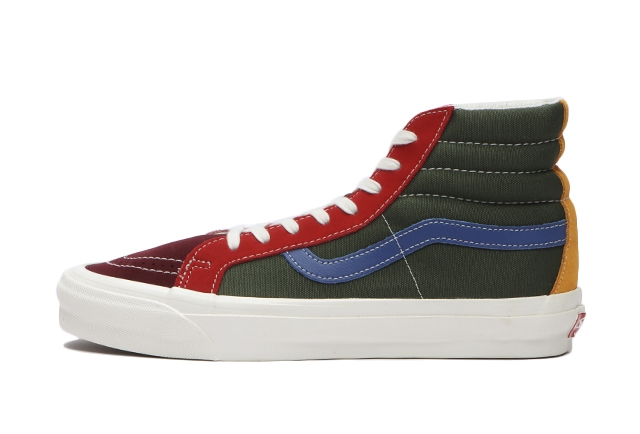 (SUEDE/CANVAS)MULTI