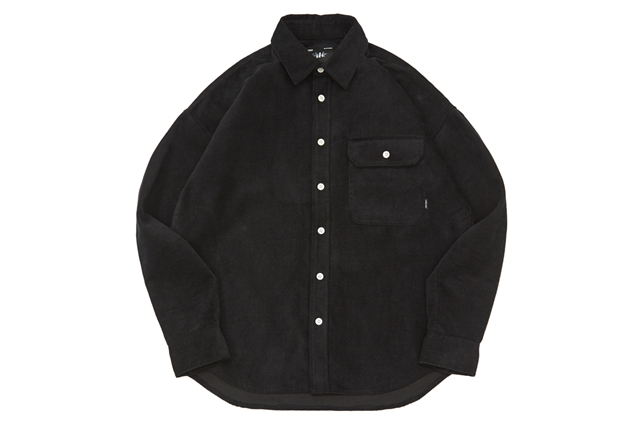 CORDUROY DROP SHOULDER SHIRT