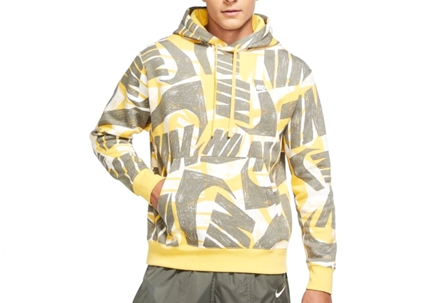 NSW CLUB BB AOP PULLOVER HOODIE