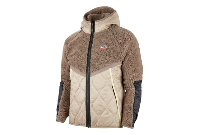 NIKE HERITAGE INSULATED WINTER HOODIE JACKET