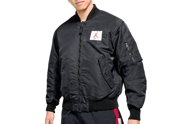 JORDAN FLIGHT MA-1 REVERSIBLE BOMBER JKT