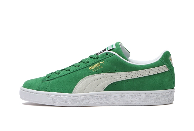 02AMAZON GREEN/PUMA WHITE