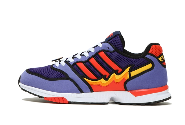 ZX 1000 SIMPSONS FLAMING MOES