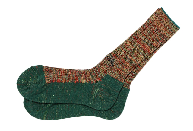 DOUBLE JACQUARD EMJAY SOCKS