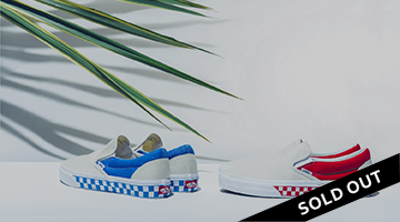 0f4a505be2  VANS CLASSIC SLIP-ON(SIDEWALL CHECK)