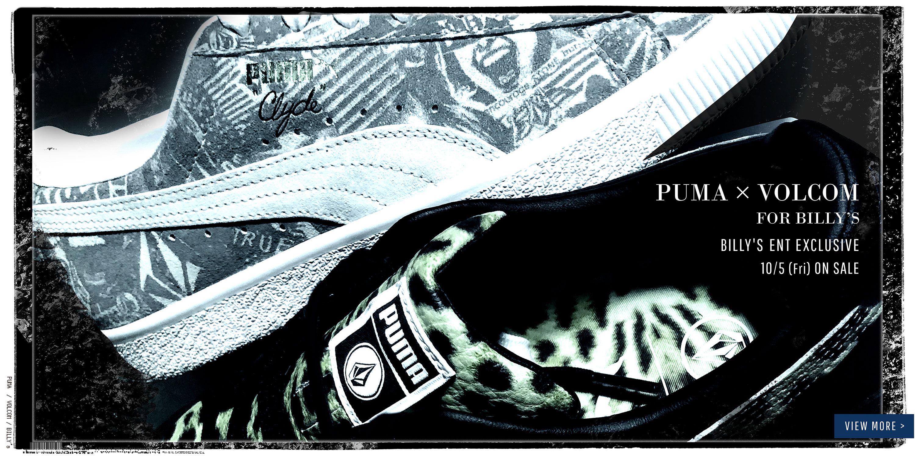 PUMA X VOLCOM FOR BILLY'S