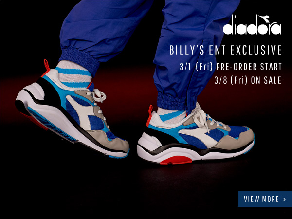 diadora BILLY'S EXCLUSIVE
