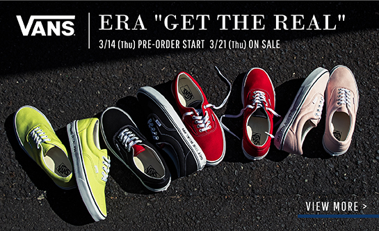 VANS ERA(Get the Real)