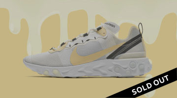 "11268776a4a7  NIKE REACT ELEMENT 55 ""VANILLA"""