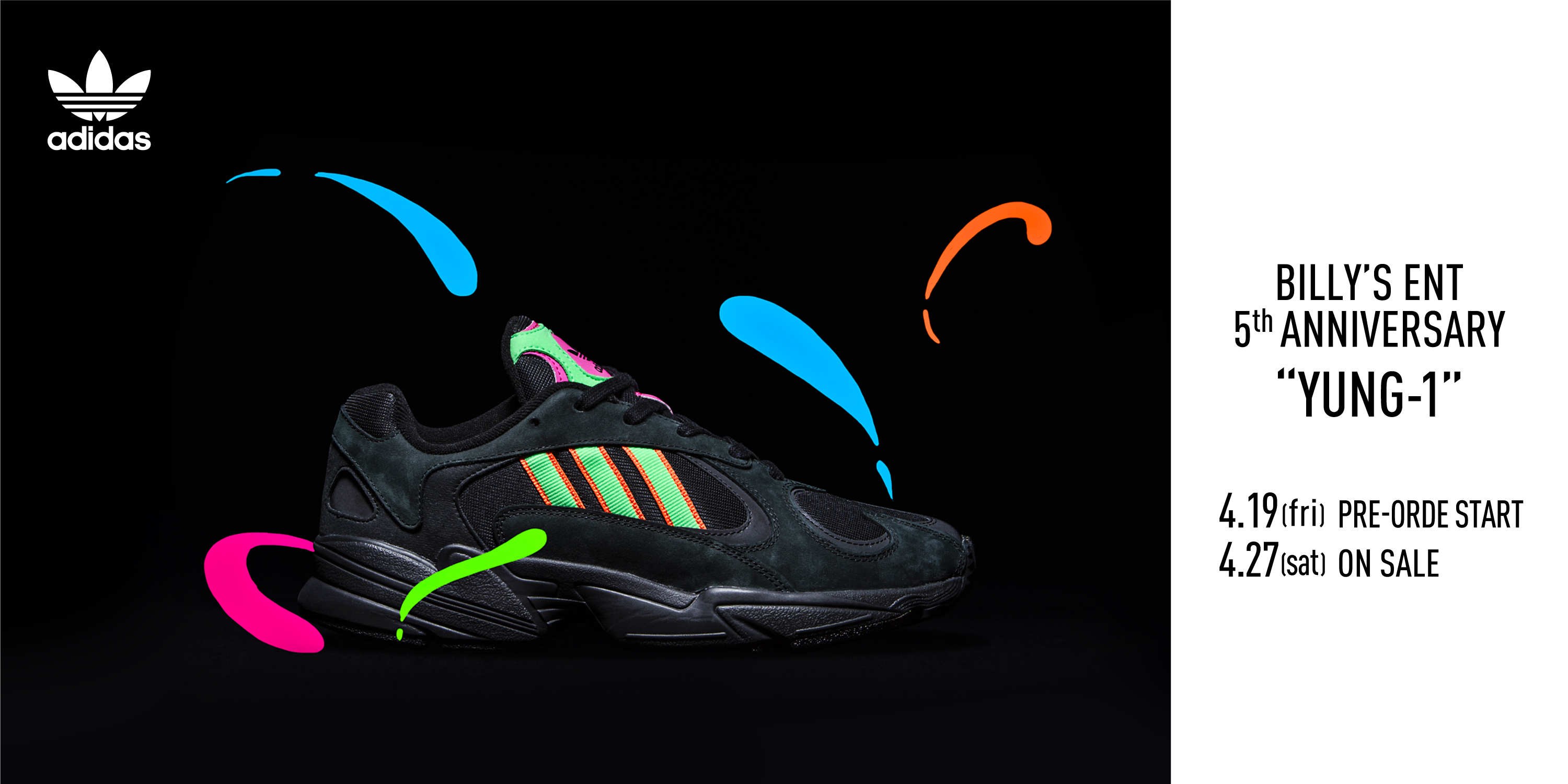 ADIDAS YUNG-1 BILLY'S