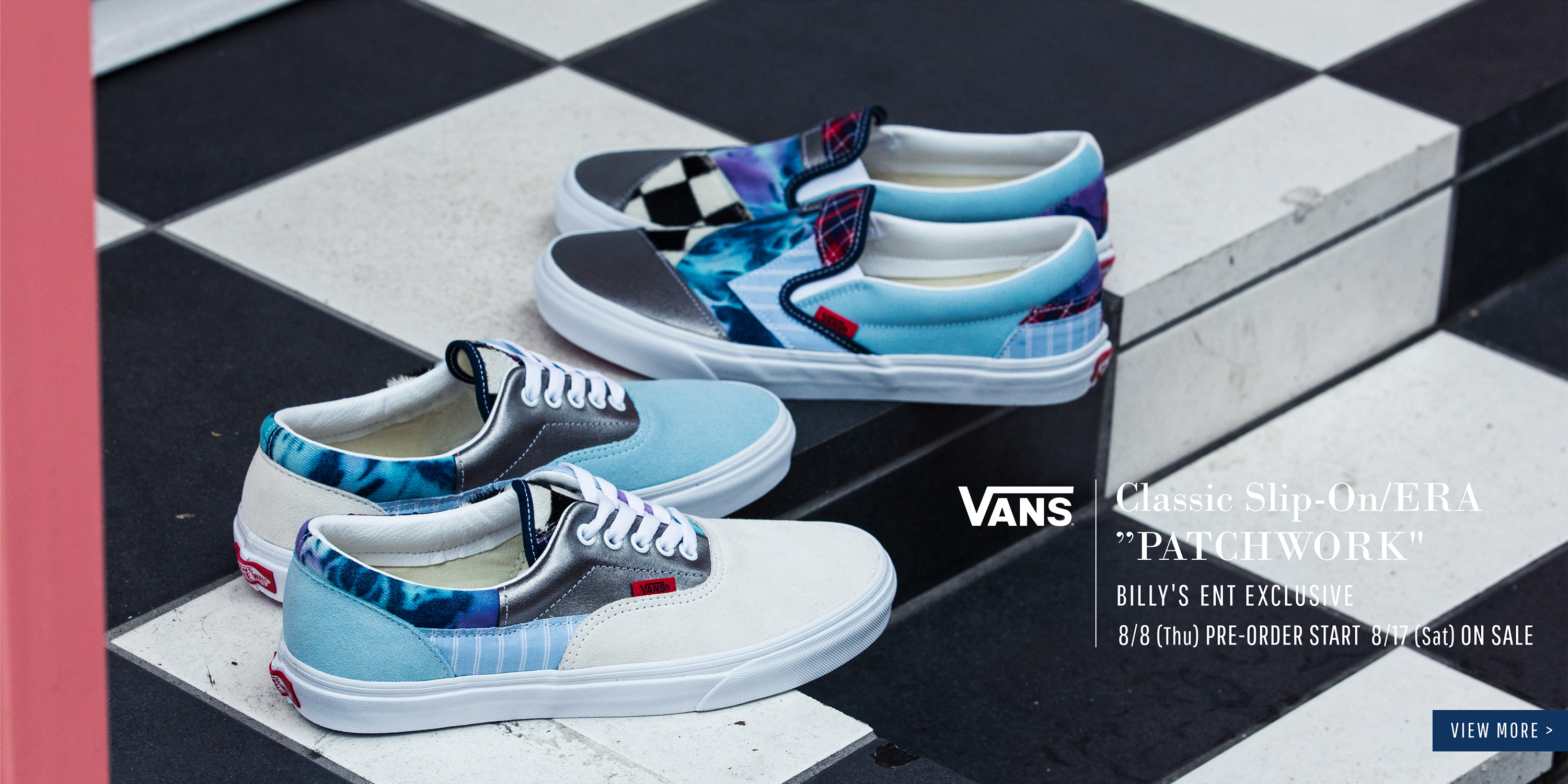 "VANS Classic Slip-On/ERA ""PATCHWORK"""