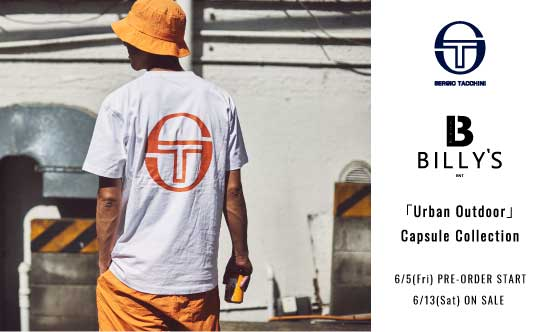 SERGIO TACCHINI × BILLY'S ENT